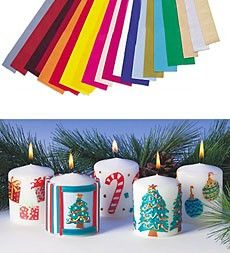 Candle Decorating Waxes and Pens