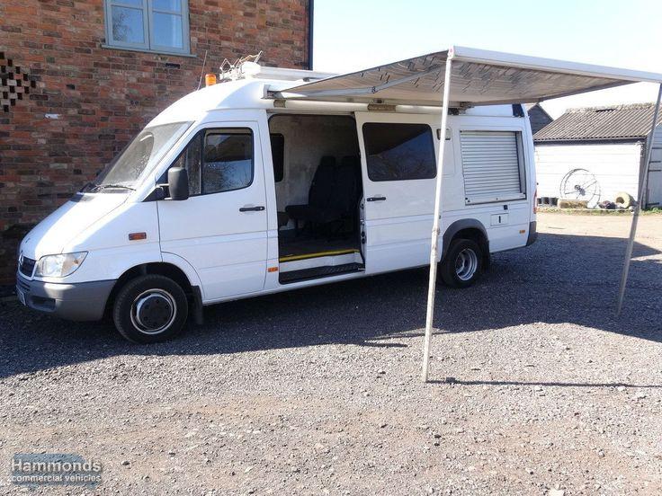 2007 Mercedes Sprinter 416 LWB. Would make a good Camper Expedition Overland Truck