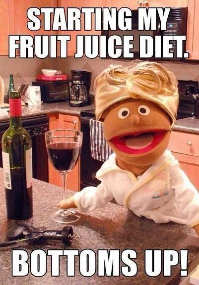 Fruit juice diet #wine