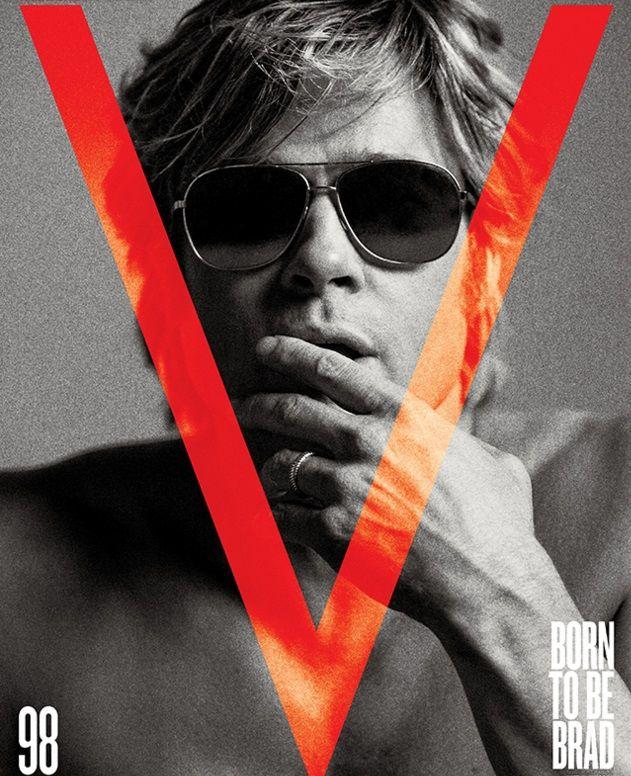 """Brad Pitt está por estrenar """"By the sea"""", film dirigido por su esposa Angelina Jolie. Para la promoción, realizó esta sesión de fotos para V Magaziney demostró que a sus 51 años, sigu…"""