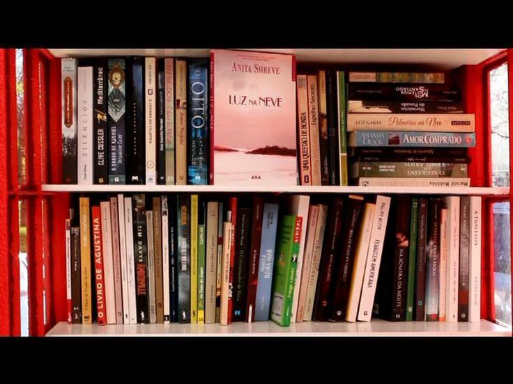 A Cabine de Leitura no nosso bairro / www.facebook.com/cabineleitura