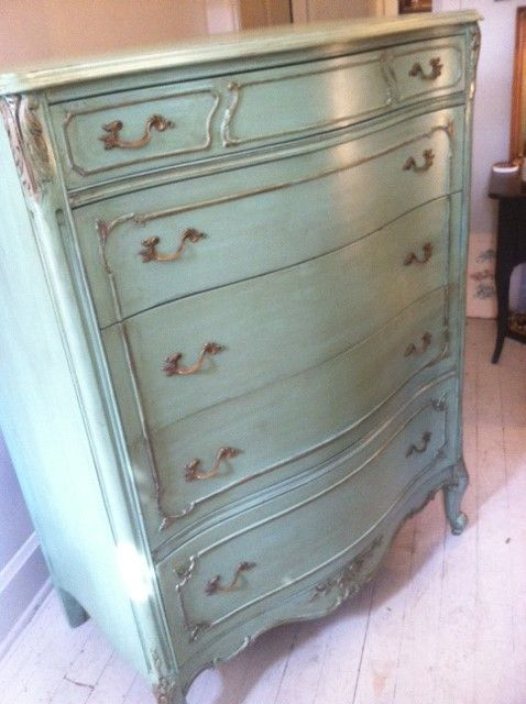 Beautiful Refinished High Boy Dresser Love This For Nursery Or Master Bedroom Chicago