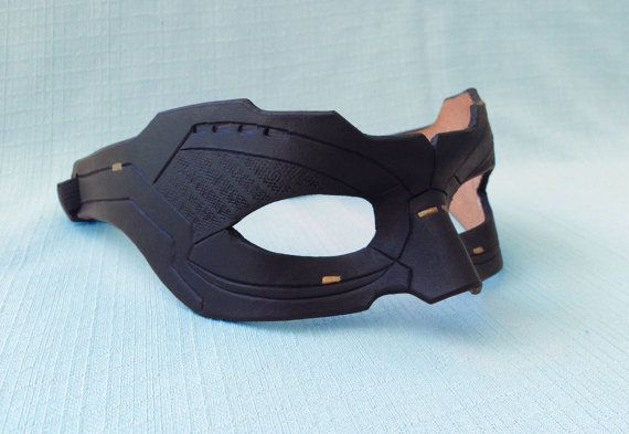 Made To Order:  Leather Super Hero Villain Cosplay Mask