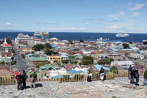 Punta Arenas  (Chile)  - Mirador
