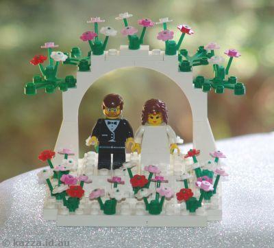 Lego Wedding Cake Topper Dental Poker
