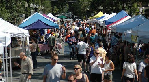 Denver's Farmer's Markets, options for Saturday, Sunday, Tuesday, and Thursday.