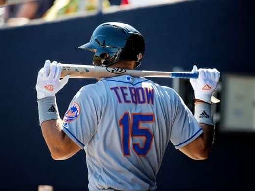 tim tebow baseball | Tim Tebow turns to Daniel Murphy as a baseball mentor