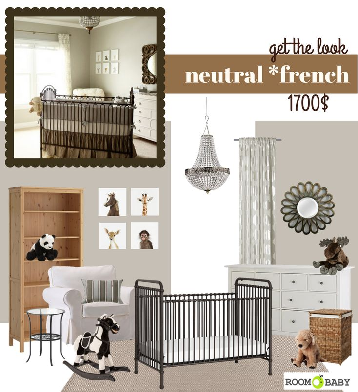 roomobaby blog: neutral *frenchy style nursery