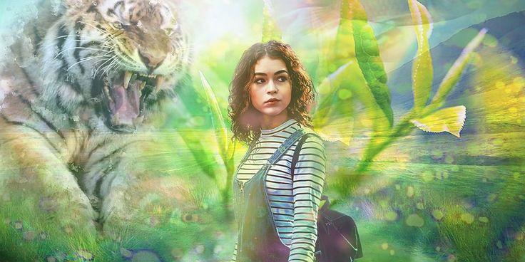 Wonderland, Tigris, Lány, Nő