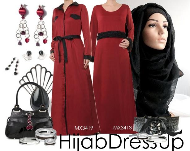 So Red Abaya