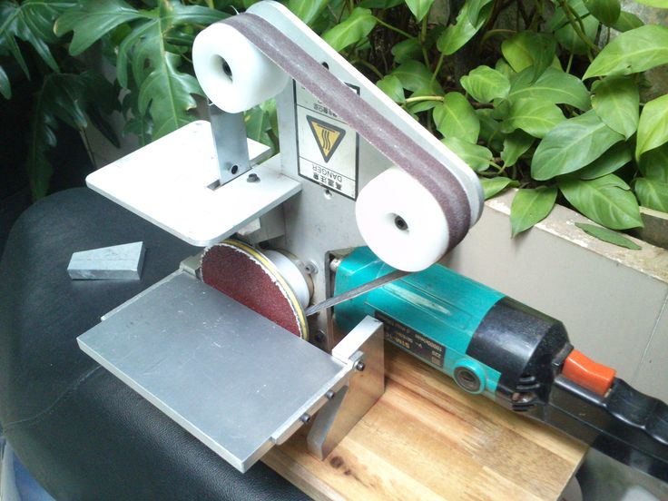 Voila, my DIY Disc - Belt Sander. hehe.