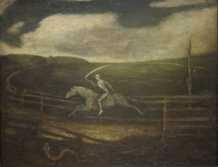 The Race Track (Death on a Pale Horse) - Albert Pinkham Ryder