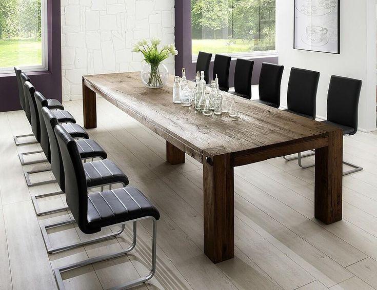 esstisch petrus 300x120 verwittert eiche massiv vintage. Black Bedroom Furniture Sets. Home Design Ideas