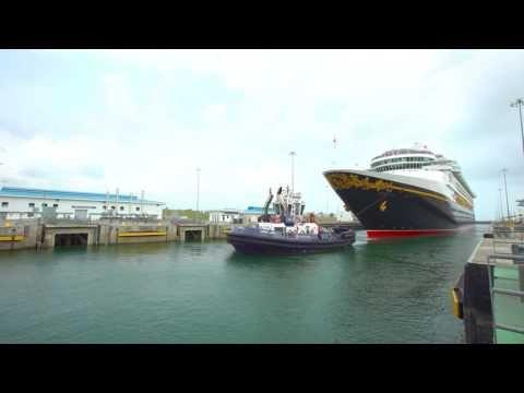 Disney Wonder è la prima nave da crociera ad attraversare il nuovo sistema di chiuse del Canale di Panama | Dream Blog Cruise Magazine