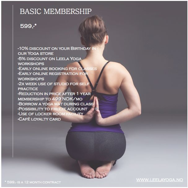 Basic unlimited monthly membership