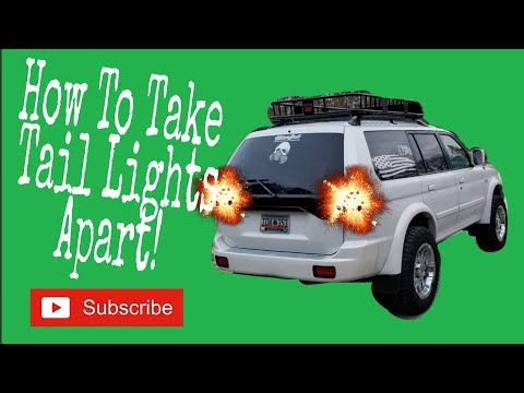 How to Bake and open your Tail Lights #Diy #Monterosport