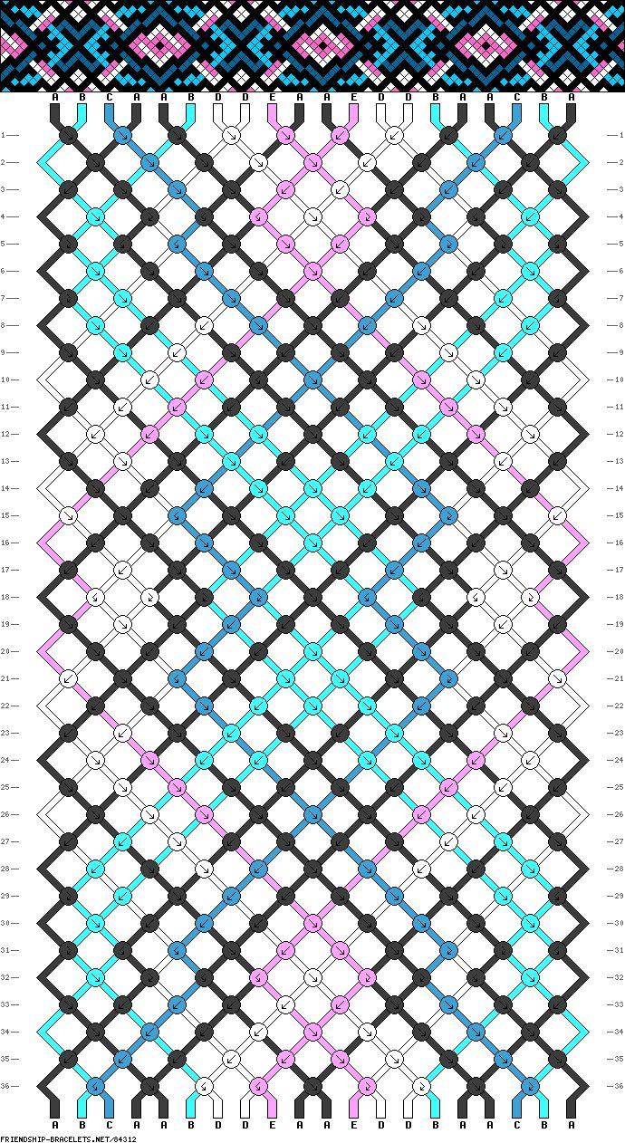 522 best macrame diagrams images on pinterest friendship Easy Friendship Bracelet Patterns friendship bracelet tutorials easy