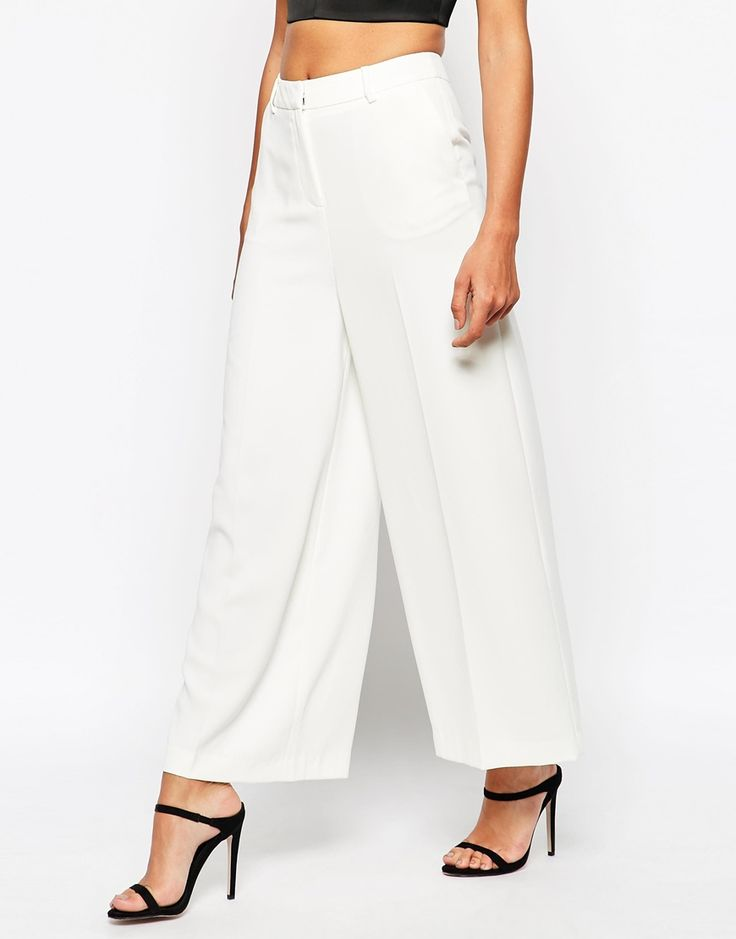 Image 4 of Warehouse High Waisted Palazzo Pant