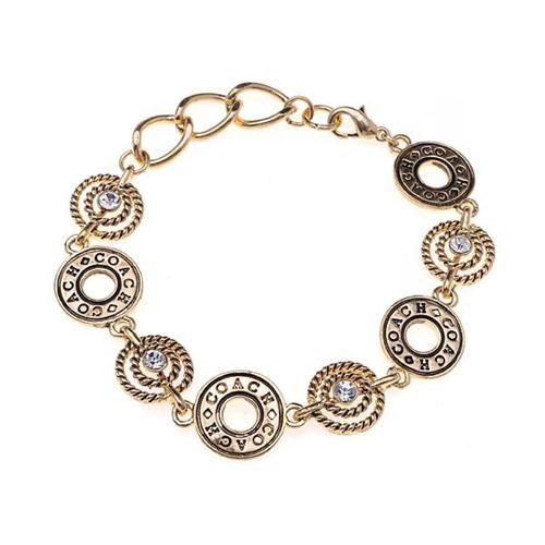 $12.99  cuddlestudios.com - High Quality Coach Open Circles Gold Bracelets ALH, I'm in love!