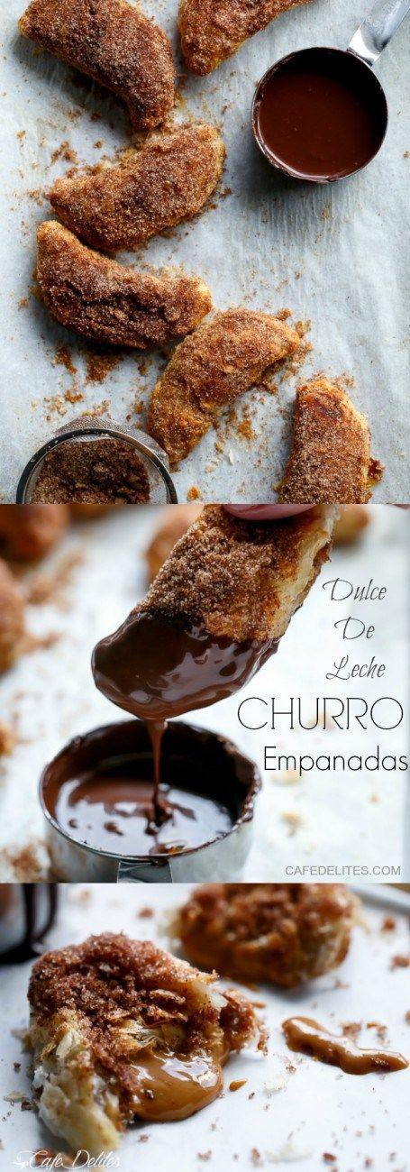Dulce De Leche Churro Empanadas | http://cafedelites.com