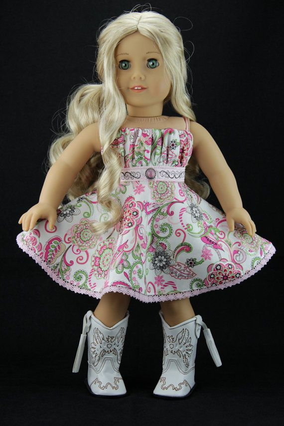 American Girl doll clothes  Western style by DolliciousClothes
