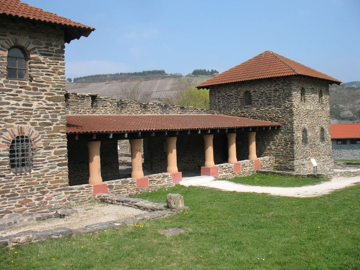 The Ancient Roman Villa Rustica In Mehring.