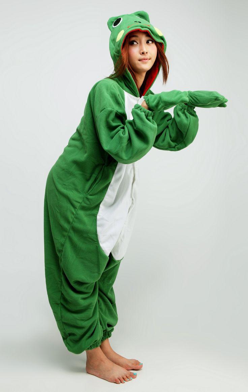Frog Animal Adult #Kigurumi #Onesie