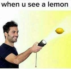 When life gives you a lemon...