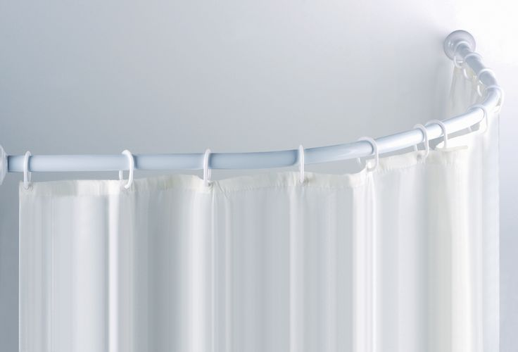 Magnetic Shower Curtain Rod