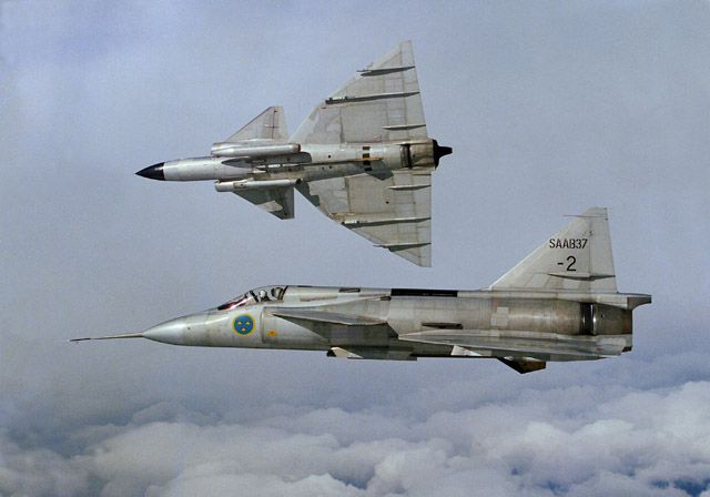 Saab 37 Viggen - FliegerWeb.com - News Reportagen Videos!
