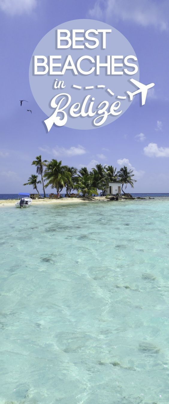 "The 5 best beaches in Belize to visit. Belize has 240 miles of coastline and 450+ islands which they call ""Cayes."" Don't miss these 5 beaches in Belize!"