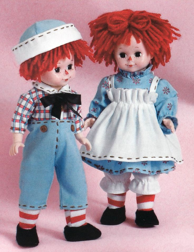 Raggedy Ann & Andy from Madame Alexander