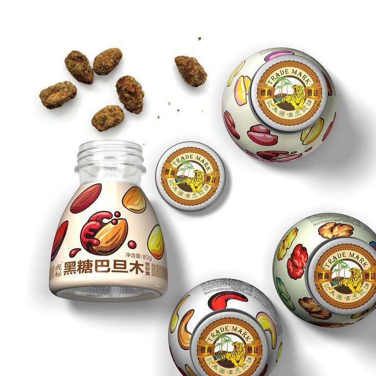 Brown Sugar Nut — The Dieline - Branding & Packaging Design