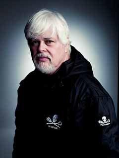 Le Capitaine Paul Watson, foundateur de Sea Shepherd Conservation Society. Photo: Mike Mulle