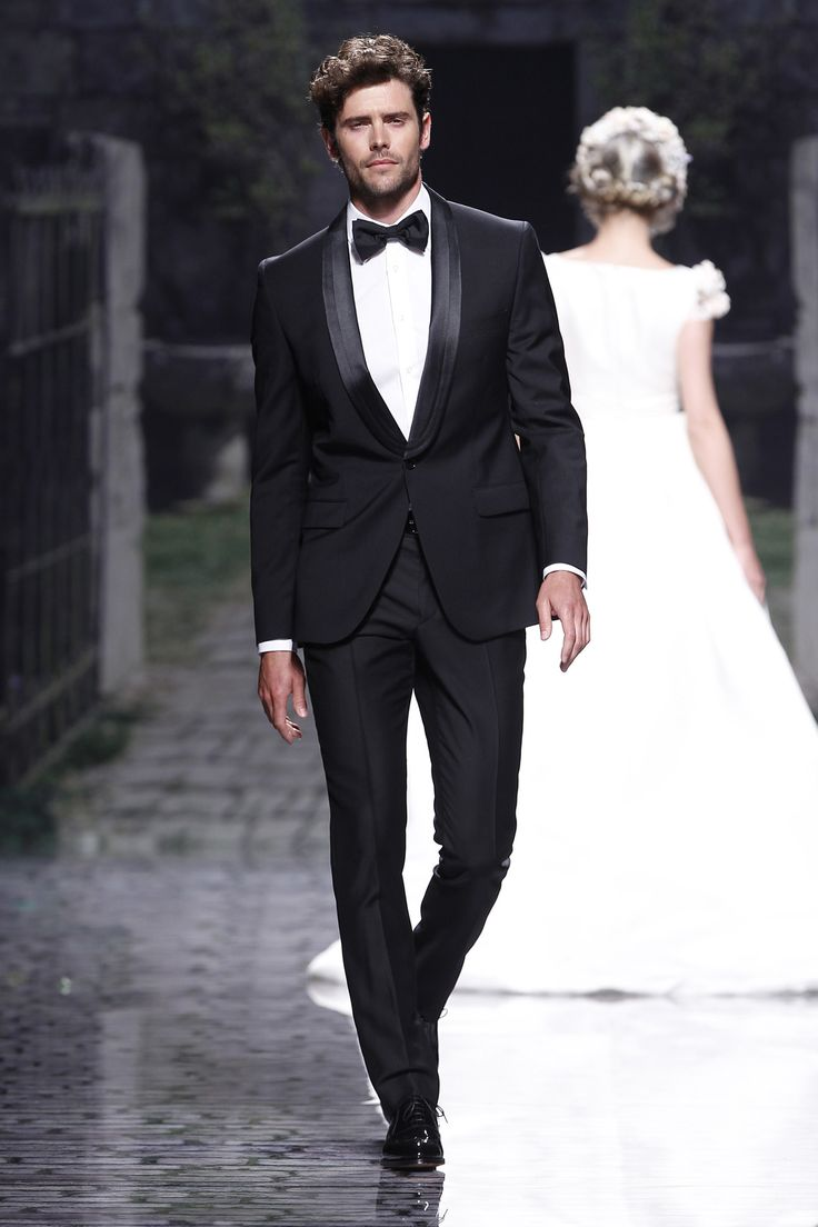 Best Men's Wedding & Morning Suits (BridesMagazine.co.uk) Victorio & Lucchino. 2013 Collection. Barcelona Bridal Week.
