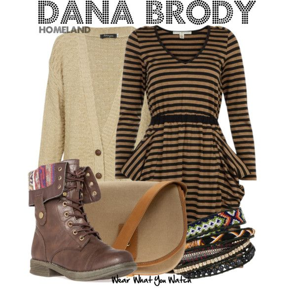 Inspired by Morgan Saylor as Dana Brody on Homeland.