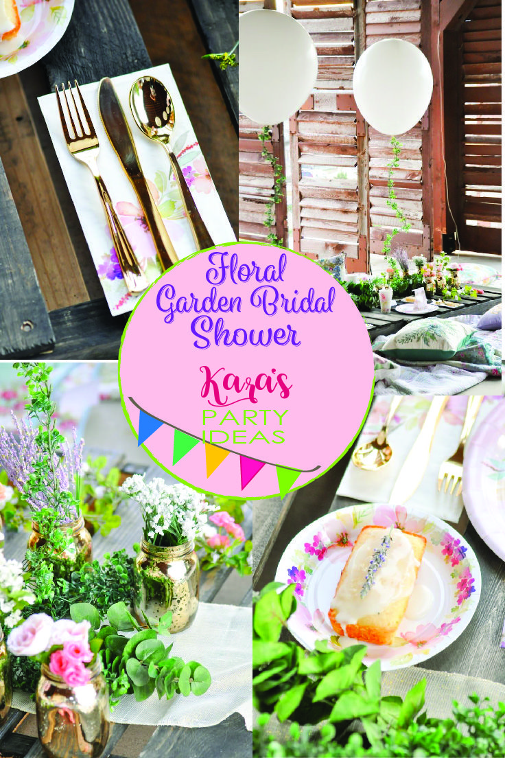From kara s party ideas rustic dessert table display designed by - Check Out This Beautiful Floral Garden Bridal Shower Designed By Kara From Kara S Party Ideas