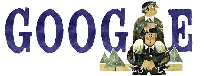 傑哈伍利 95 歲誕辰 Gerard Oury's 95th Birthday #GoogleDoodle