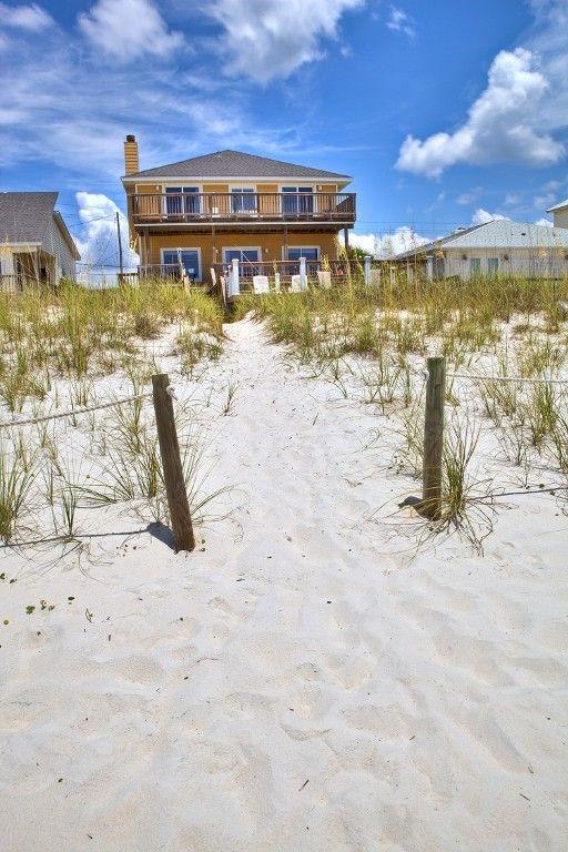 Beachfront House Rentals In Pensacola Beach Florida
