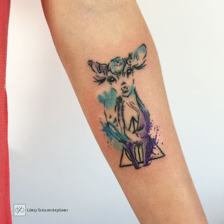 HarryPotter  Profesör Severus Snape PatronusGümüşi Maral. #harrypotter #patronus #patronustattoo #pottermore #deertattoo #deer #always #alwaystattoo #harrypotterfan #tattooer #harrypottertattoo #watercolortattoo #cokorfultattoo #tattooink #tattooartist #sketchtattoo #antalyatattoo #inkedlife #tattoodesign #antalyadövme #gokceozaslan #heyysakura