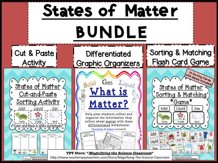 99 best images about 3 states of matter on pinterest activities student and anchor charts. Black Bedroom Furniture Sets. Home Design Ideas