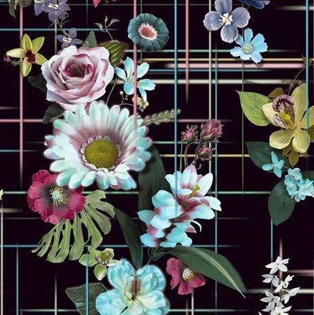 Decorative pillow cover,  Designers Guild - stunning Veranda jour or Veranda nuit. by AdoreDesignLucie on Etsy