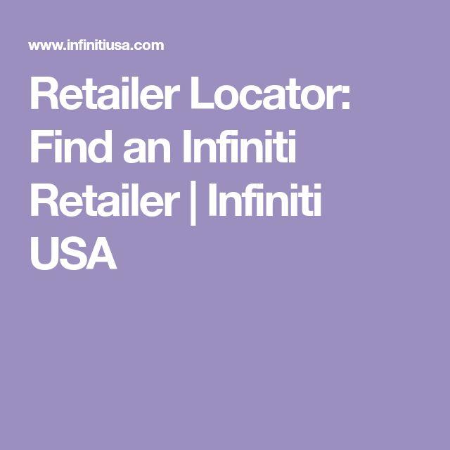 Retailer Locator: Find an Infiniti Retailer | Infiniti USA