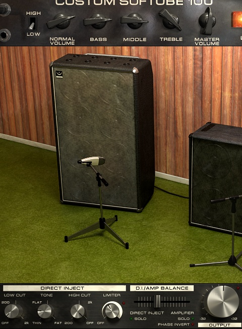 @SoftubeStudios bass amp room. nicely adds oomph from bass guitar trks