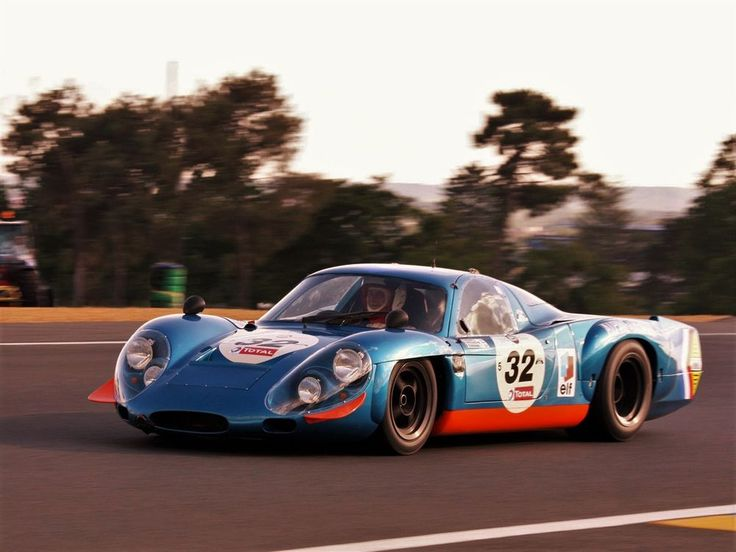 Alpine - Beautiful Nightmare - 1968 Alpine A220 - Car History