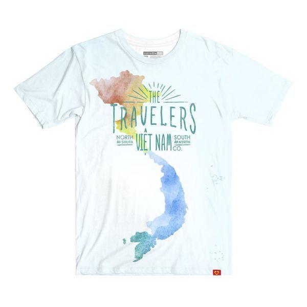 Travelers to Vietnam - Map – Shop áo thun