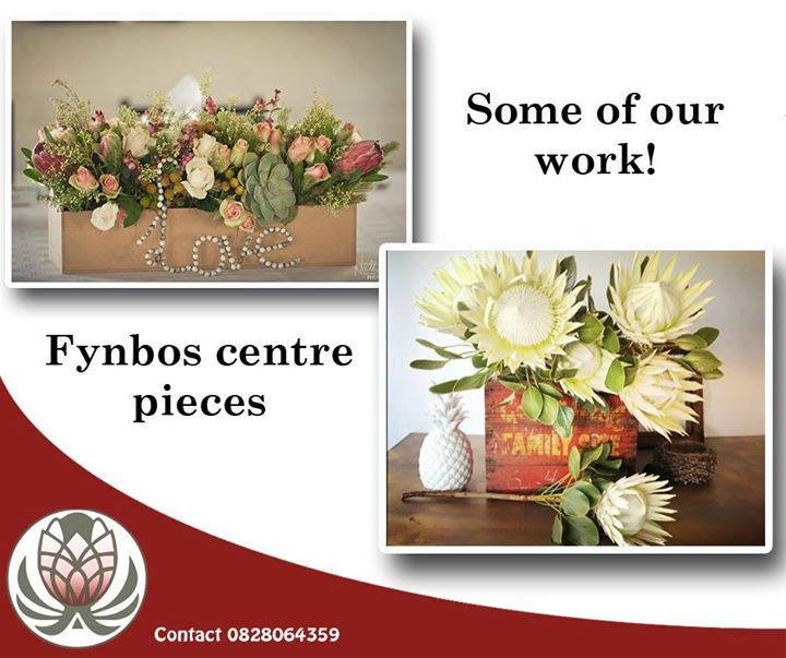 Here are just a few of the floral arrangements we have had the privilege of producing for clients. Place your order and we can have them delivered anywhere in South Africa. #floral #fynbos #bofberg