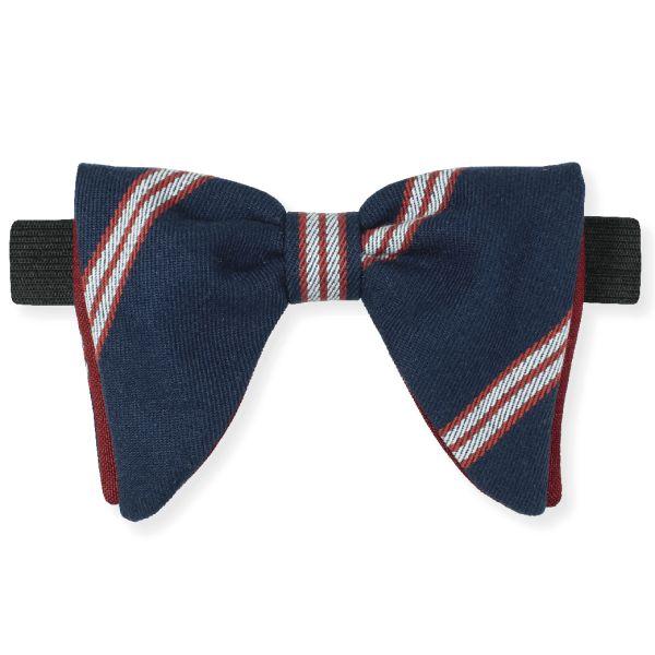 Gravata Bat Listrada Azul – Dois Maridos – Gravatas Borboletas, Suspensórios e informações de moda.