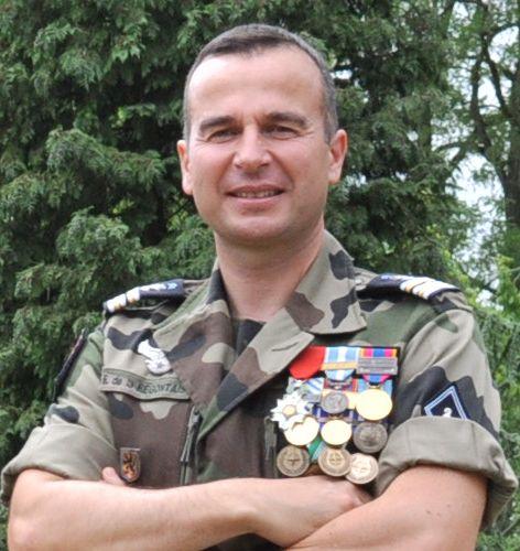 83e Le Colonel de la Regontais Galerie des chefs de Corps du 2° Régiment de Hussards