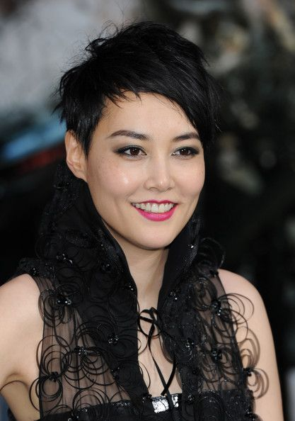 Rinko Kikuchi Rinko Kikuchi attends the European Premiere of 'Pacific Rim' at BFI IMAX on July 4, 2013 in London, England.